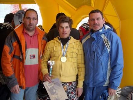 1η Θέση, Snowboard Βασιλίτσα 2009